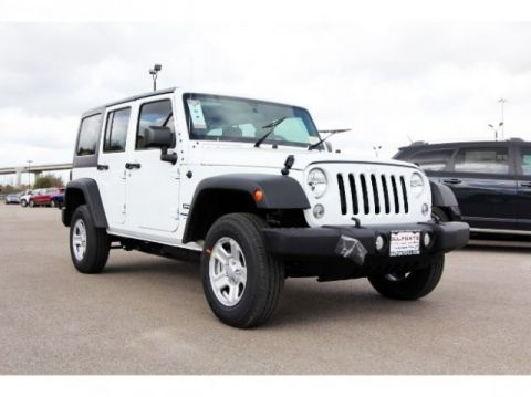 New Jeep Wrangler JK Unlimited Sport
