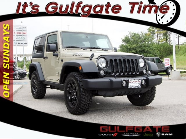 Certified Pre Owned 2017 Jeep Wrangler Freedom Edition