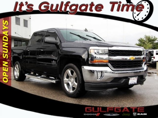 Pre Owned 2017 Chevrolet Silverado 1500 Lt 4d Crew Cab In Houston