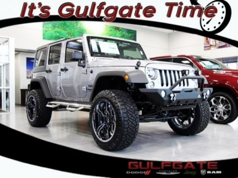 New 2017 JEEP Wrangler JK Unlimited Sport